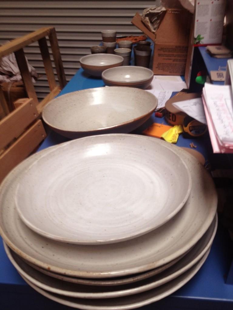 Platters delivered to SHED